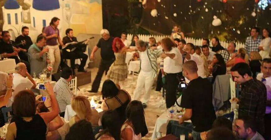 Greek New Year Party In Istanbul