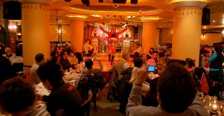 Sultanas Restaurant New Years Eve Party Istanbul
