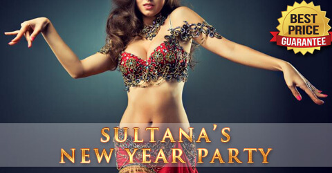 Sultana's Restaurant New Year Party