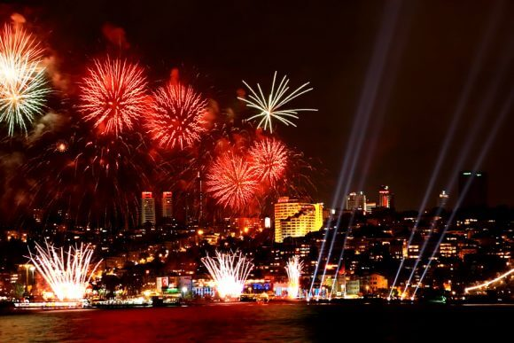 New Year Cruise on the Bosphorus