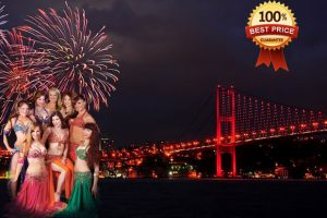 New Year Part Cruise on the Bosphorus in Istanbul
